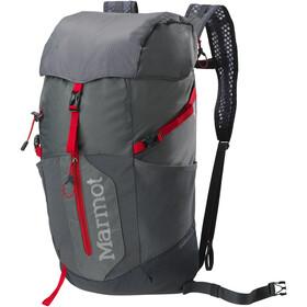 Marmot Kompressor Plus Daypack 20l, cinder/team red